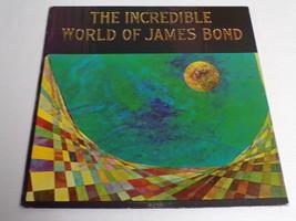 Incredible World of James Bond ORIGINAL Vintage 1965 Vinyl LP Record Album - £14.26 GBP
