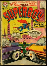 SUPERBOY #52 1956 DC POWER-BOY FIRST SILVER AGE ISSUE FR - $25.22