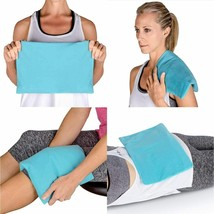 ICEWRAPS Multipurpose Ice Pack with Soft Fabric Cover 14 x 10 x 1 inches
