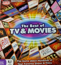Spin Master The Best of TV & Movies  2 to 6 player game adult new - $14.85