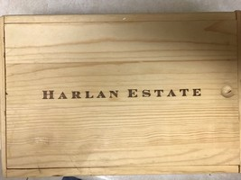 2005 HARLAN ESTATE WOOD WINE 2 BOTTLE BOX SLIDE LID SEXY LADY COMPLETE - $24.74