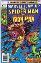 Marvel Team Up #48 ORIGINAL Vintage 1976 Marvel Comics Spiderman 1st Wraith - $14.84