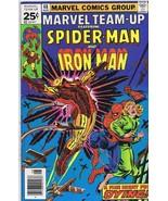 Marvel Team Up #48 ORIGINAL Vintage 1976 Marvel Comics Spiderman 1st Wra... - $13.99