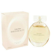 Sheer Beauty By Calvin Klein Eau De Toilette Spray 3.4 Oz For Women - $35.96