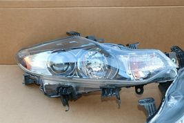 09-14 Nissan Murano Halogen Headlight Head lights Lamps Set L&R MINT image 7