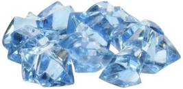 Acrylic Blue  Ice Rock Vase Gems or Table Scatters Decoration - $9.36