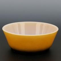 """Fire-King 5"""" Stacking Bowl Orange Black Fade image 2"""