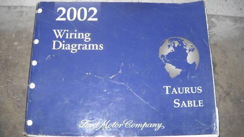 2002 Ford Taurus Mercury Sable Elektrisch Schaltplan Service Manual Oem