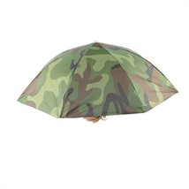 1PC New Foldable Elastic Camouflage Pattern Sun Rain Umbrella Hat Cap Ou... - $9.24