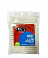 "Ol' Roy Rawhide 5"" Sticks, Natural Beef Hide • 50 Count - $14.07"