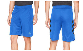 Large adidas Men's Sport Short 3-Stripe Athletic Shorts Authentic Licensed NEW