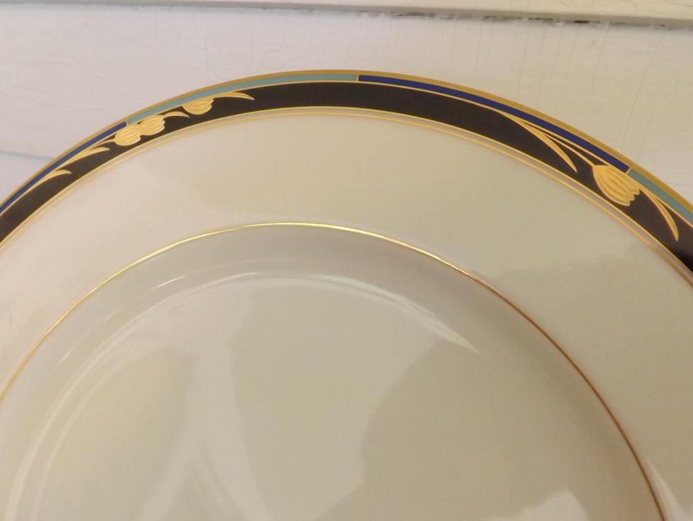 Mikasa Chatelaine Chop Plate Platter Lan17 Chatelaine Pattern Vintage Chinaware