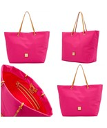 NWT Dooney & Bourke Miramar Addison Fuchsia Tote Bag $168 - $148.30