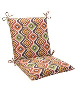 "CC Outdoor Living 36.5"" South Western Bohemian Patio Squared Chair Cushi... - $77.95"