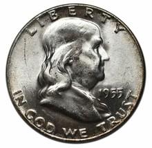 1955 Franklin Silver Half Dollar 50¢ Coin - $33.61