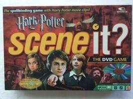 Harry Potter Scene It DVD Board Game Complete - $24.00