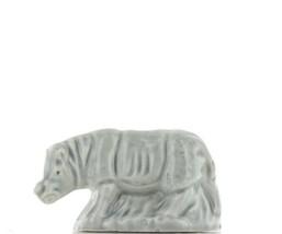 Wade Whimsie Miniature Porcelain Rhinoceros