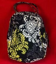 Vera Bradley Let's Do Lunch Bag Bunch - Black Scroll Baroque Print - £17.02 GBP