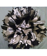 "SAN ANTONIO SPURS  12"" Ribbon Wreath Custom Made For Each Spur Nation Fan - $30.00"