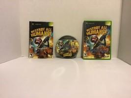Destroy All Humans (Microsoft Xbox, 2005) - $6.44