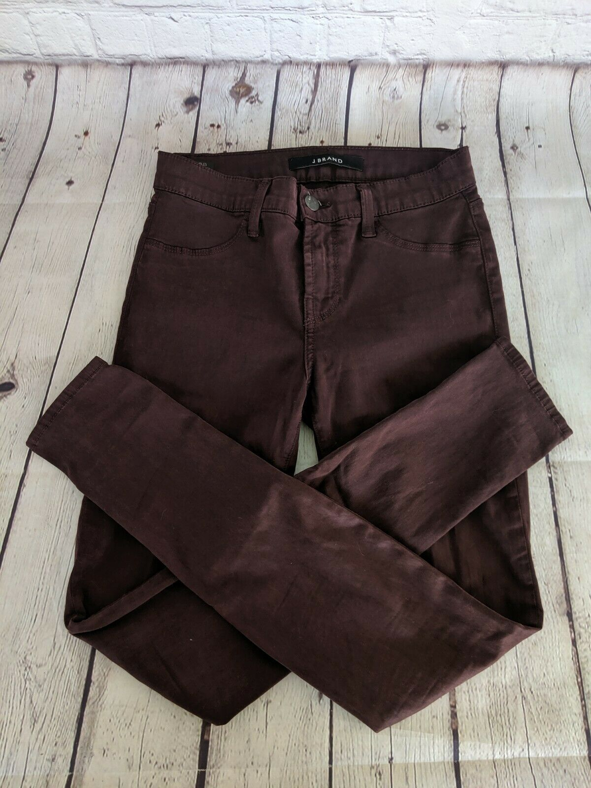 J.BRAND | Women's Size 25 Super Skinny Pinot Purple Jeans Pants Stretch