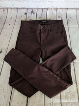 J.BRAND | Women's Size 25 Super Skinny Pinot Purple Jeans Pants Stretch - $21.37