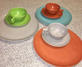 9 Pc Branchell Color Flyte Melmac Mid Century M... - $13.10