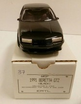 1991 CHEVY BERETTA GTZ BLACK PROMO ERTL CAR AMT NIB 6037 GENERAL MOTORS ... - $24.30