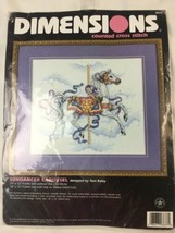Sundancer Carousel Counted Cross Stitch Kit New With Tag Dimensions 14 X... - $18.69