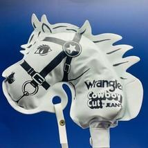 Hobby Stick Horse toy vintage Wrangler Cowboy cut jeans hobie white head... - $168.25