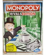 Hasbro Monopoly Rivals Edition 2 Player Board Game NEW - $14.50