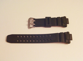 Original CASIO Watch Strap G SHOCK G1500 G1000 Black Silver Buckle NEW B... - $27.97