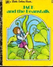 Vintage Little Golden Book Jack and the Beanstalk 545 - $5.00