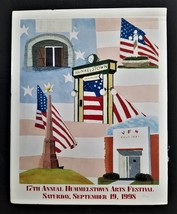1998 original HUMMELSTOWN ARTS FESTIVAL pa koons POSTER numbered 205 of 500 - $68.95