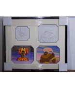 Original 1996 Framed Production Cels w Sketches HBO Happily Ever After S... - $63.86