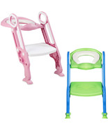 Potty Training Toilet Seat with Step Stool Ladder - $34.25