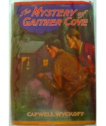 The Mystery at Gaither Cove orange hardcover dj Capwell Wyckoff Saalfiel... - $23.00