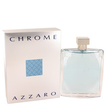 Azzaro Chrome Cologne 6.8 Oz Eau De Toilette Spray image 2