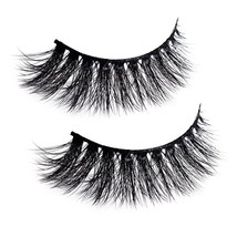 Natural Wispy Thick Reusable Authentic Faux Silk False Eyelashes - Fluff... - $19.63