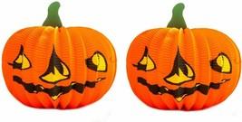 Halloween Pumpkin Foldable Paper Pumpkin For Halloween Decoration Reusab... - $11.87