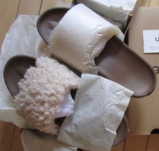 UGG Slipper Sandal Fluffy Toscana Shearling Royale Slide NEW - $89.00