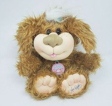 "11"" 2005 Xavier Roberts Cabbage Patch Kids Puppy Dog Stuffed Animal Plush Brown - $36.47"