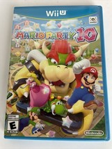Mario Party 10 (Nintendo Wii U, 2015) CIB Complete TESTED Fast Shipping WiiU - $26.68