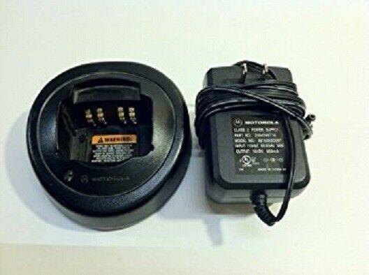 Motorola HT Series Single Rapid Charger Kit HKLN4226A New! - G1