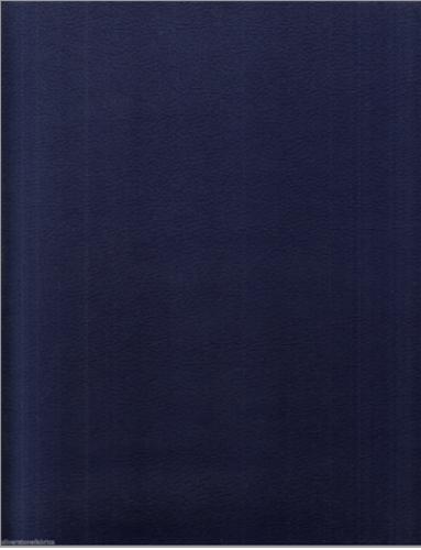 Ultrafabrics Brisa Ink Navy Blue Faux Leather Upholstery Fabric 7 yds RJ