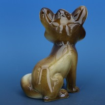 Vintage Zsolnay Hungary Hand Painted Brown Fox Porcelain Figurine image 2