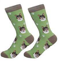 Calico Cat Socks Unisex Dog Cotton/Poly One size fits most - $11.99