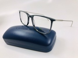 New LACOSTE L2827 466 Striped Avio Eyeglasses 52mm with Case - $79.15