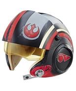 Star Wars The Black Series Poe Dameron Electronic X-Wing Pilot Helmet GR... - $121.24