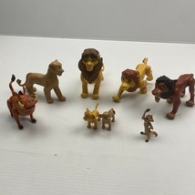 "Disney Lion King Figures Just Play Simba, Nala Scar Mufasa 5"" action figure LOT - $37.36"